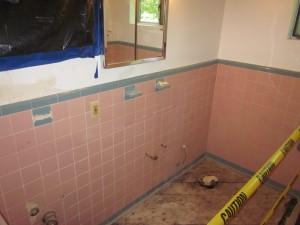 Cobern Project Water Damage - Before Renovation
